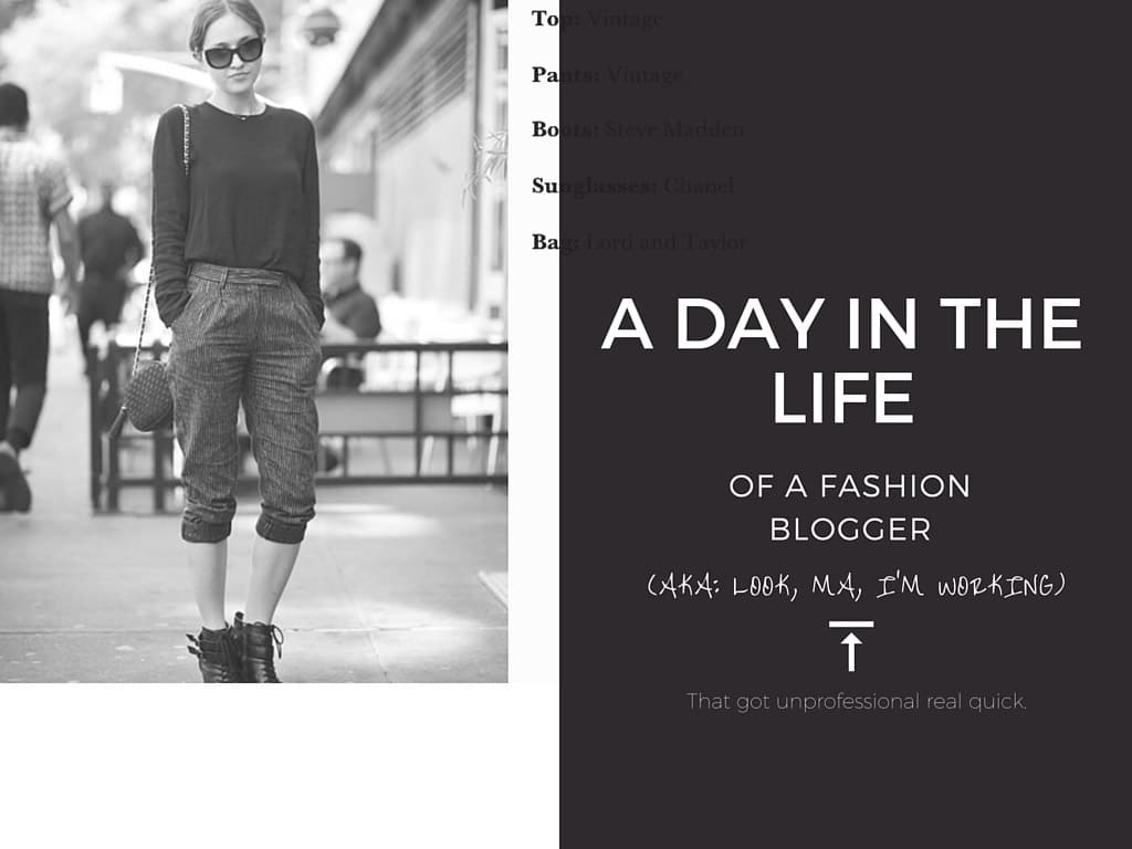 A Day in My Life As A Blogger