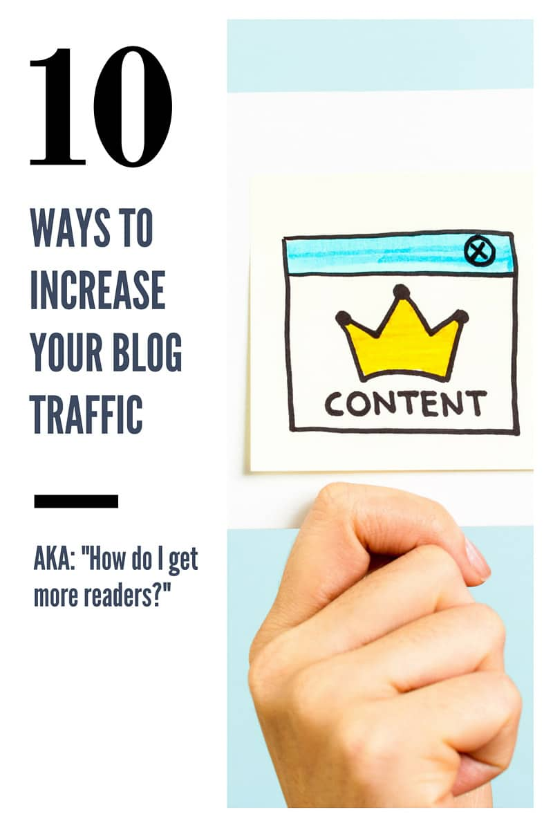 How to Increase Blog Traffic in 10 Steps