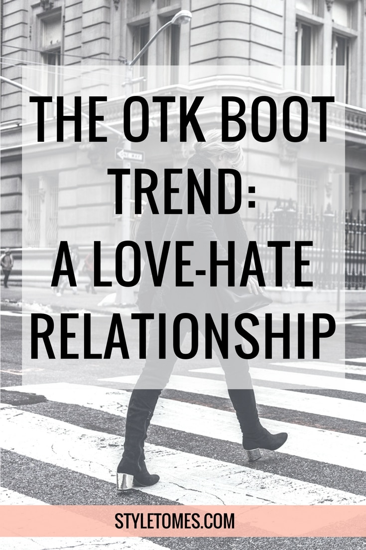 The OTK Boot Trend: Why I secretly love to hate it.