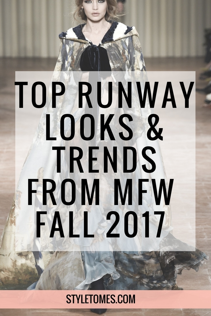 Top 2017 Fall Fashion Trends from MFW