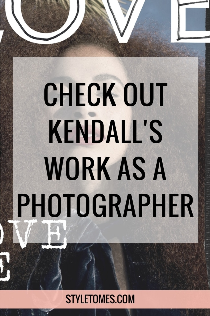 Kendall Jenner and Gigi Hadid are photographers